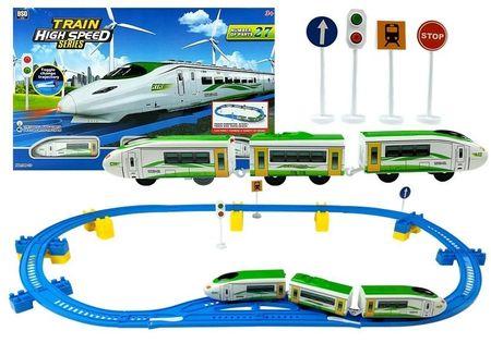 Zestaw Pociąg Kolejka 27 Części Na Baterie