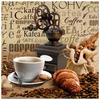 OBRAZ DRUKOWANY  Aromatyczna kawa o poranku 40x40