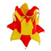 Kapelusz błazna w barwach Hiszpanii z 14 dzwonkami zdjęcie 3