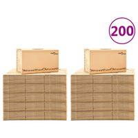 Kartony Do Przeprowadzki, Xxl, 200 Szt., 60X33X34 Cm