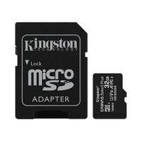 Kingston Karta pamięci microSD  32GB Canvas Select Plus 100MB/s Adapter