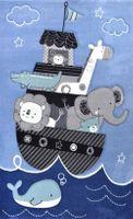 Dywan dla dzieci Diamond Statek 160x230cm