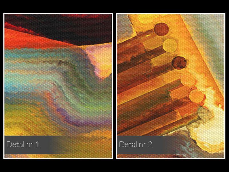 14801 Obraz na płótnie GITARA INSTRUMENT MUZYKA zdjęcie 5