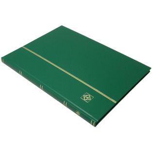 Klaser na znaczki Basic 16 str zielony LEUCHTTURM