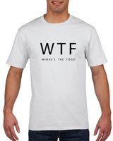 Koszulka męska WHERE IS THE FOOD WTF XXL