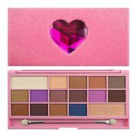 I Heart Makeup Palette Zestaw cieni do powiek Unicorn Love  22g (16 kolorów)