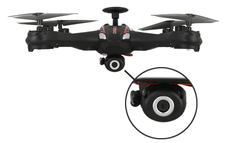 DRON EVOSTAR Explorer RQ77-14W z Kamerą WiFi 6Axis 3Aku Czarny Z25C zdjęcie 10
