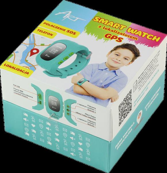 ZEGAREK KIDS SMARTWATCH DZIECI LOKALIZATOR GPS SIM zdjęcie 9