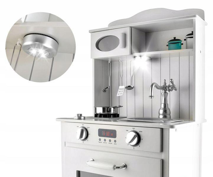 Kuchnia Drewniana Dla Dzieci z Oświetleniem LED Tort Fartuszek U31Z zdjęcie 8