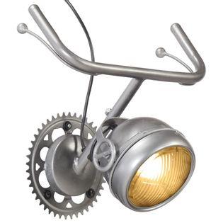 Lumarko Lampa ścienna z częściami motocyklowymi, żelazo!
