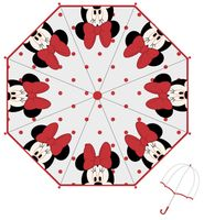 Parasol manualny Minnie Mouse Licencja Disney (WD12270 Red)