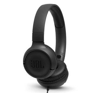 JBL Tune 500 czarne przewodowe
