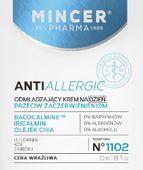 Mincer Pharma Anti Allergic Krem odmładzający na dzień do cery wrażliwej  50ml
