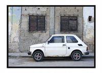 OBRAZ PLAKAT W RAMIE 33x43 cm Auto P1699,