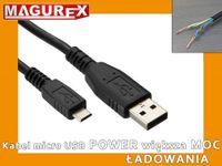 Kabel Micro USB POWER do ładowania tabletu , smartfona 5m