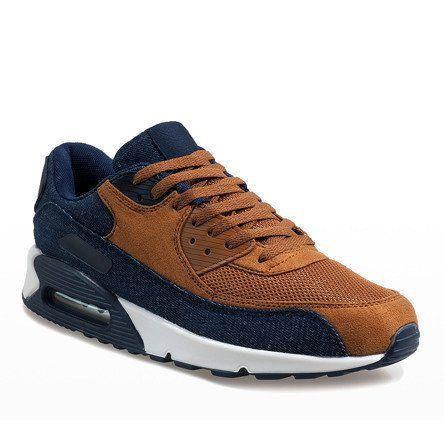 Granatowe męskie obuwie sportowe 8104 r.45 zdjęcie 2