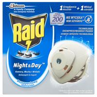 Raid  Elektrofumigator Na Komary, Muchy I Mrówki - Night & Day