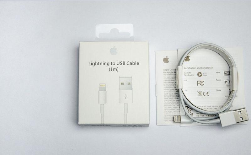 ORYGINALNY KABEL iPhone X 8 plus 8 7 plus 7 6s 6 5s 5c 5 iPad 1 metr zdjęcie 6