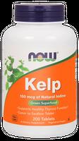 Now Foods Kelp (Jod) 150 mcg - 200 tabletek