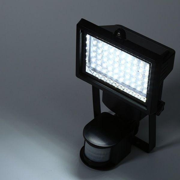 LAMPA SOLARNA OGRODOWA LED Z CZUJNIKIEM RUCHU I ZMIERZCHU CAŁOROCZNA zdjęcie 4