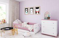 Łóżko POLA 180 x 80 szuflada + barierka ochronna + MATERAC GRATIS