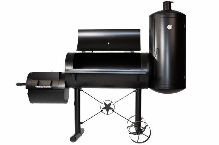 Grill ogrodowy XXL BBQ, wędzarnia, grill z wędzarnią zdjęcie 1