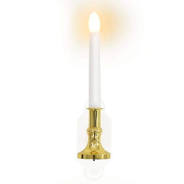lampy solarne w kształcie świecy