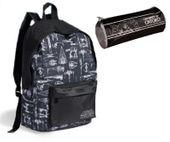 Plecak szkolny  wycieczkowy MŁODZIEŻOWY+ piórnik