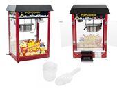 Maszyna do popcornu - czarny daszek Royal Catering RCPS-16E zdjęcie 1