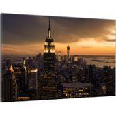 Obraz Na Płótnie 60X40 Miasto Nowy Jork O Świcie