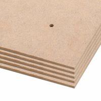 Tablice Plakatowe Din A1, 10 Szt., Płyta Hdf, 860X620X3 Mm