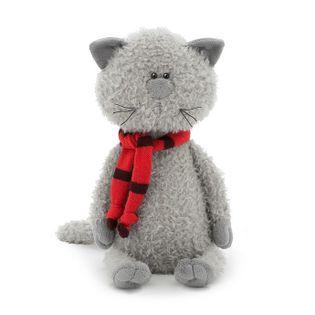 Przytulanka Kot Kumpel w szaliku 25cm #T1