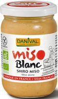 MISO SHIRO BIAŁE (PASTA Z RYŻU I SOI) BEZGLUTENOWE BIO 200 g - DANIVAL