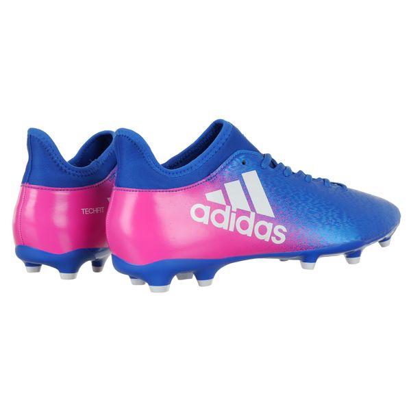 Buty piłkarskie Adidas X 16.3 FG TechFit męskie korki lanki46 • Arena.pl 16c468d81