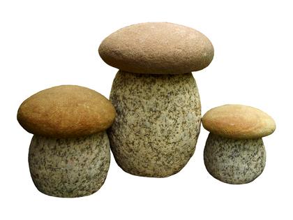 Ekologiczne figurki grzyby zestaw 3 sztuki