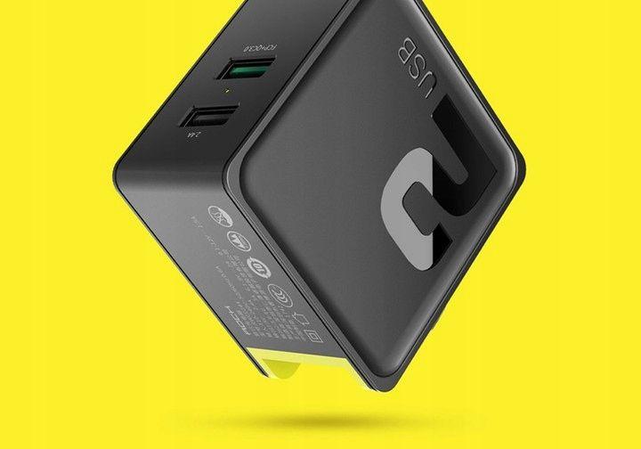 Ładowarka Sieciowa USB ROCK Quick Charge 3.0 30W zdjęcie 12