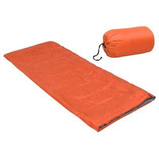 Lumarko Lekki śpiwór dziecięcy, prostokątny, pomarańczowy, 670 g, 15°C!