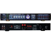 MOCNY WZMACNIACZ 5-KANAŁOWY USB SD MP3 RADIO TV/PC