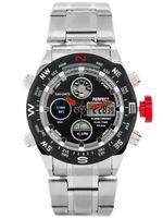 ZEGAREK MĘSKI PERFECT ZEUS - A890 (zp257c) - silver/red