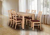 Nowoczesny Zestaw stół + 6 krzeseł:)