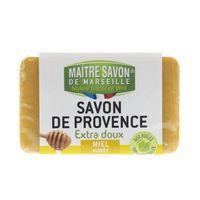 Mydło marsylskie miód 100 g - Maître Savon