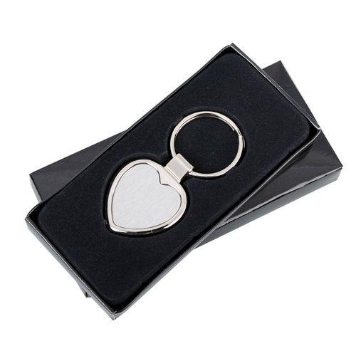 Metalowy brelok serce Stout Heart, srebrny R73277 na Arena.pl