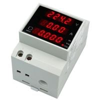 Miernik 4w1 Woltomierz Amperomierz AC230V 100a DIN