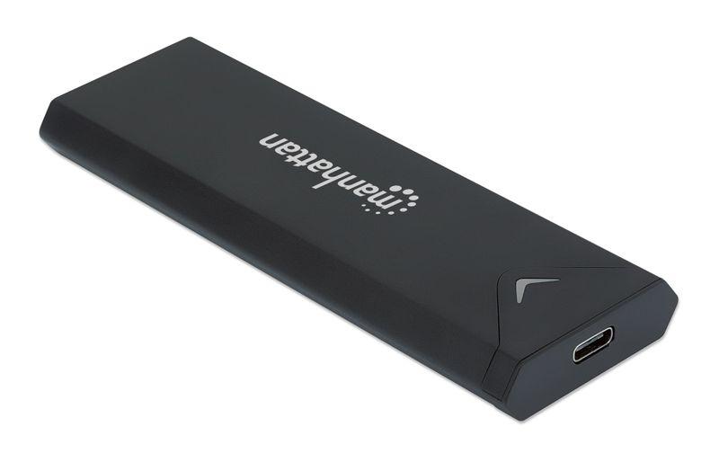 Obudowa Zewnętrzna Manhattan USB-C 3.2 Gen2 Dysku SSD M.2 NVMe 130530 na Arena.pl