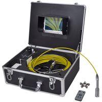 Kamera do inspekcji rur 30 m z panelem kontrolnym