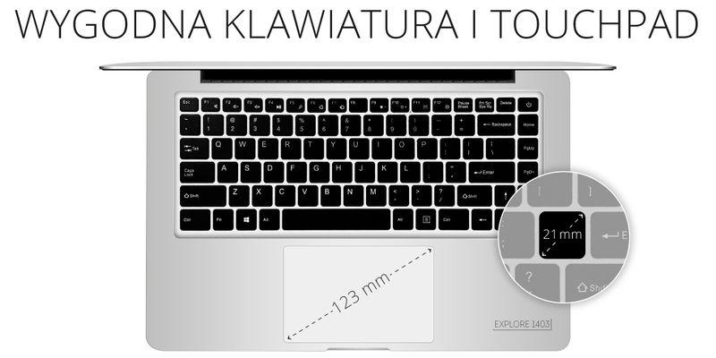 Laptop Ultrabook Kruger&Matz 1403 zdjęcie 4