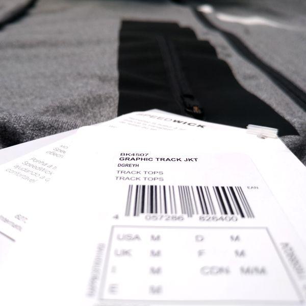 b7b1811101c468 Bluza Reebok Graphic męska sportowa dresowa rozpinana termoaktywna L  zdjęcie 3