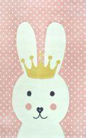 Dywan dla dzieci Diamond Pastel Kids Królik 22414 pink 160x230cm