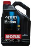MOTUL 4000 MOTION 15w40 5L OLEJ MINERALNY A3/ B3