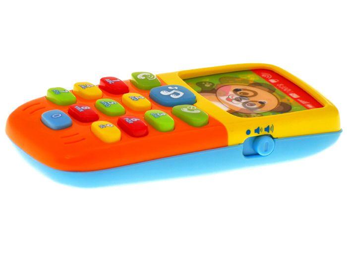 Kolorowy TELEFONIK Dla Maluszka Dźwięki Światła zdjęcie 9
